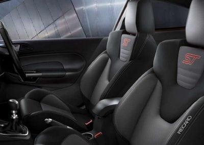 Ford Fiesta ST Recaro® sports seats