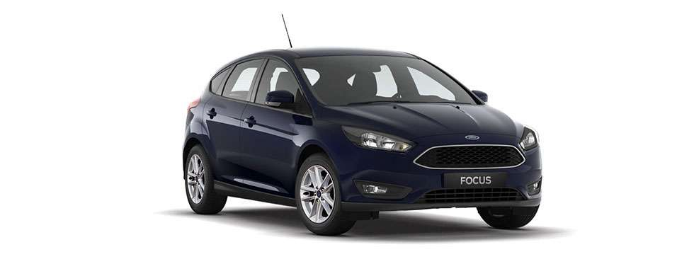 Ford Focus Hatch Blazer Blue