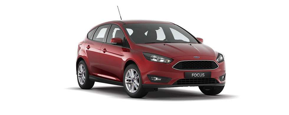 Ford Focus Hatch Candy Red
