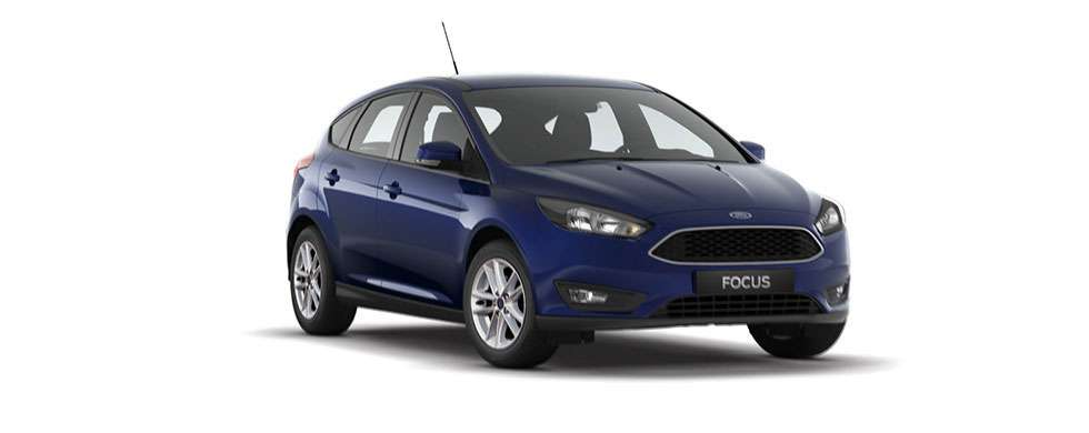 Ford Focus Hatch Deep Impact Blue