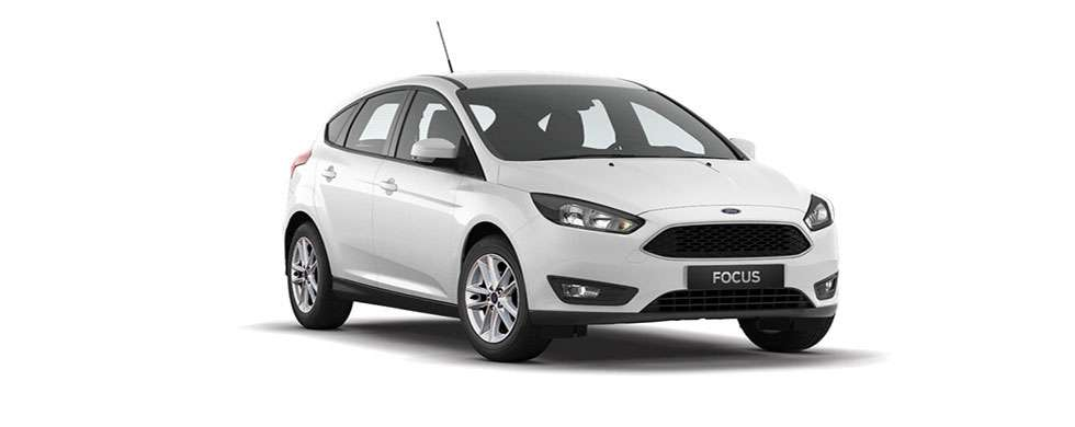 Ford Focus Hatch Frozen White
