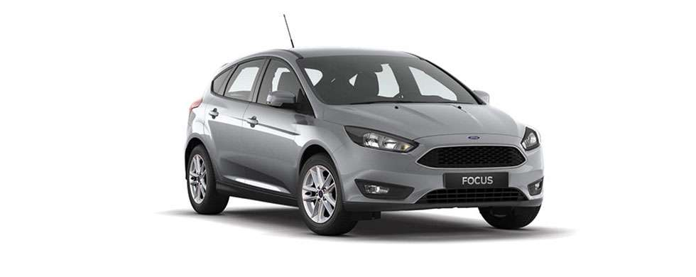 Ford Focus Hatch Moondust Sliver