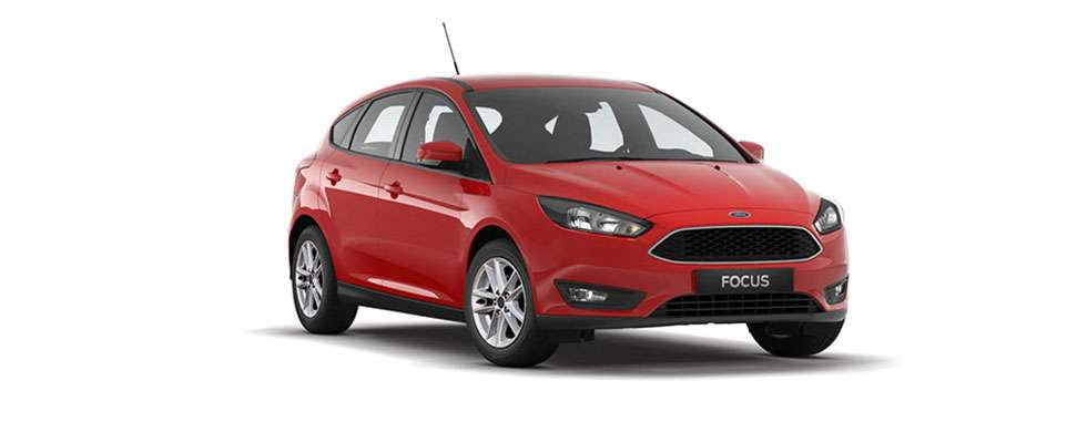 Ford Focus Hatch Race Red