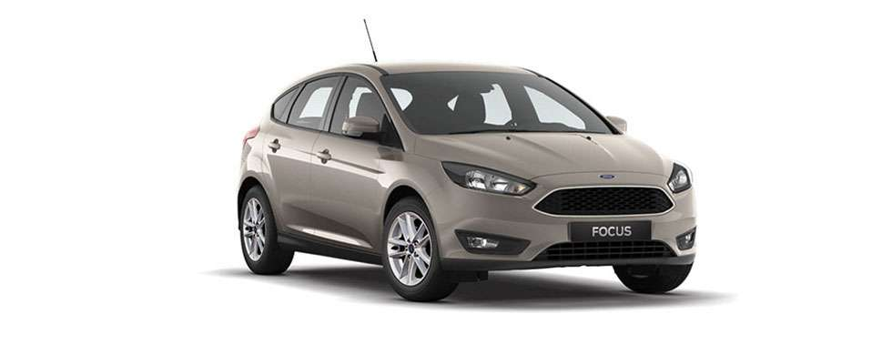 Ford Focus Hatch Tectonic Silver