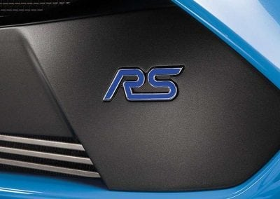 Ford Focus RS Discover Grill Logo