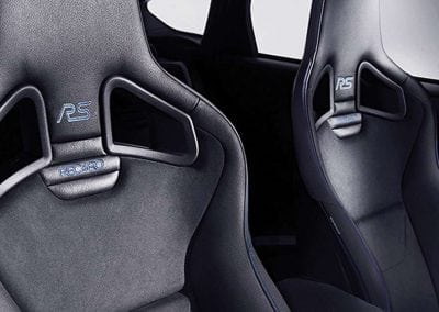 Ford Focus RS Discover Interior Seats