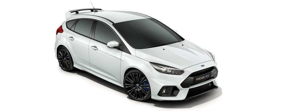 Ford Focus RS Frozen White