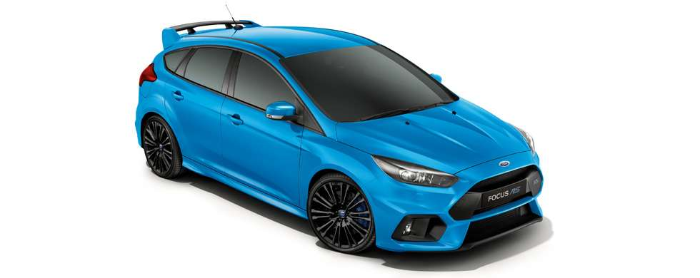 Ford Focus RS Nitrous Blue