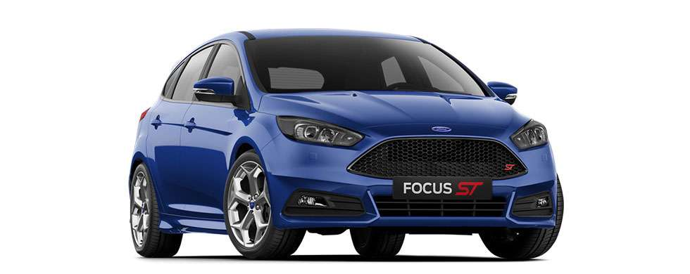 Ford Focus ST Deep Impact Blue