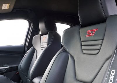 Ford Focus ST Discover Interior Seats