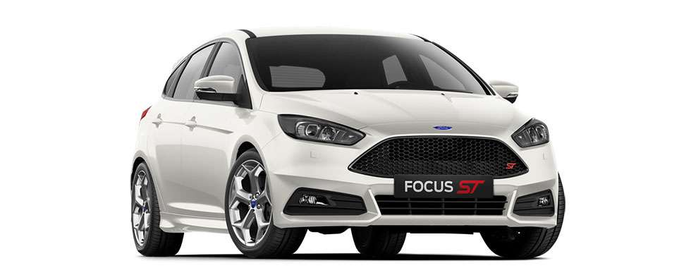 Ford Focus ST Frozen White