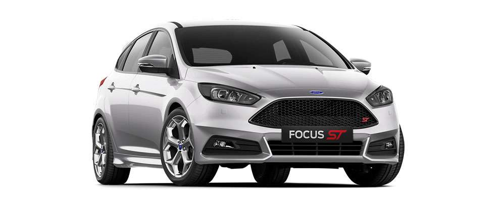 Ford Focus ST Moondust Silver