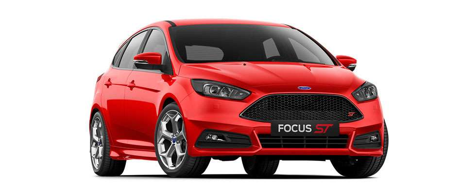 Ford Focus ST Race Red