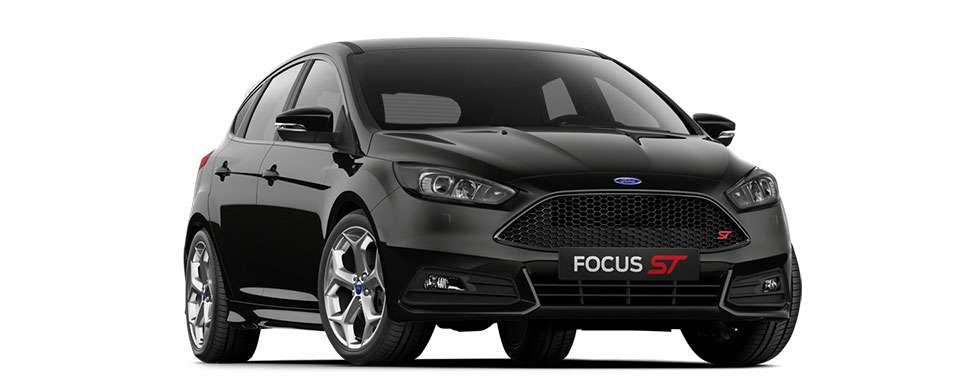 Ford Focus ST Shadow Black