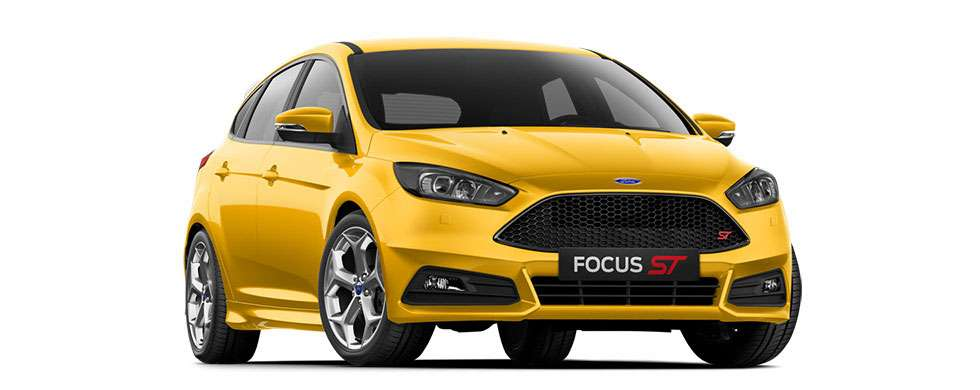 Ford Focus ST Tangerine Scream