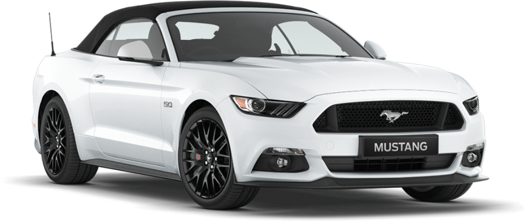 Ford Mustang Convertible Oxford White