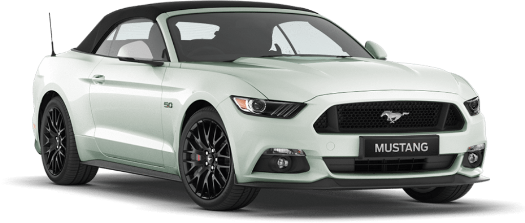 Ford Mustang Convertible Platinum White
