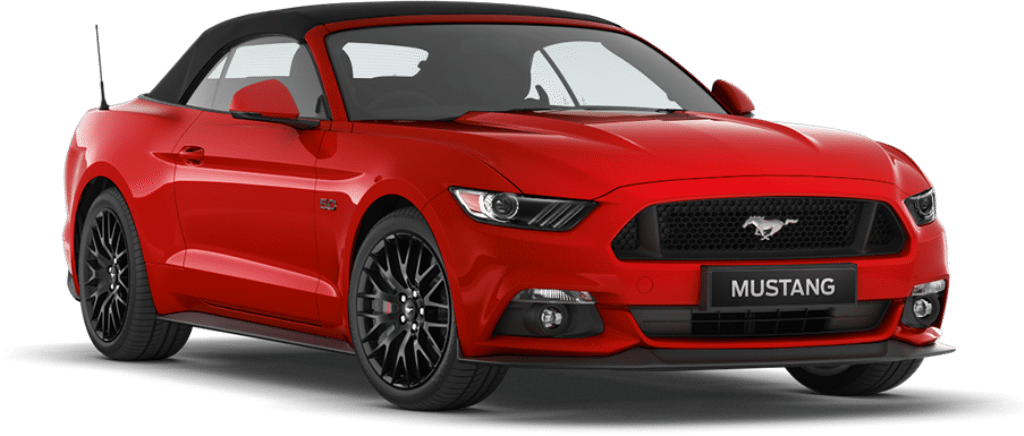 Ford Mustang Convertible Ruby Red