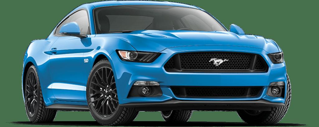 Ford Mustang Fastback Grabber Blue