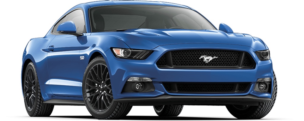 Ford Mustang Fastback Lightning Blue