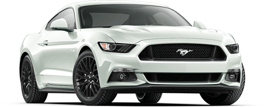 Ford Mustang Fastback Platinum White