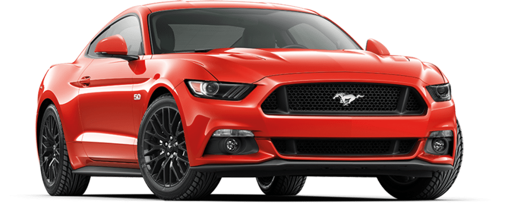 Ford Mustang Fastback Race Red
