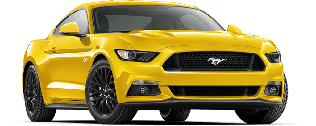 Ford Mustang Fastback Triple Yellow