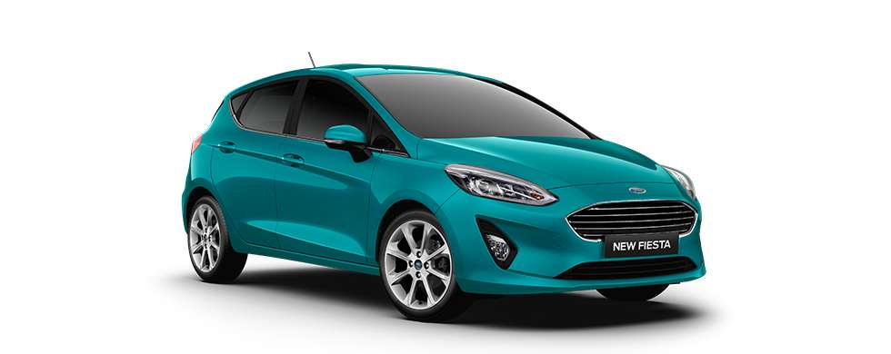 Ford New Fiesta Blue Wave