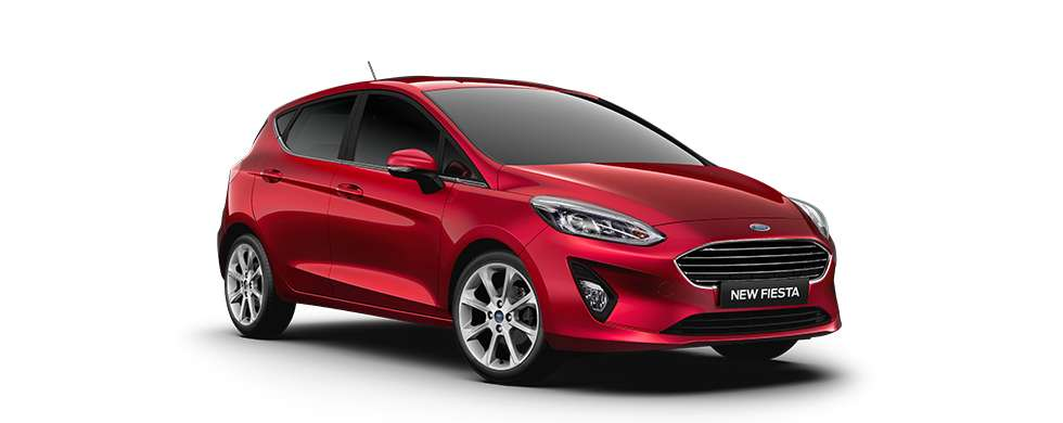 Ford New Fiesta Ruby Red