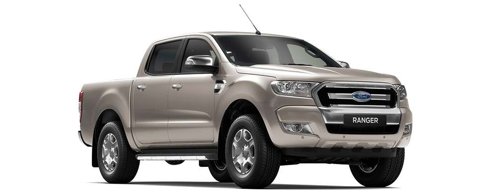 Ford Ranger - Oyster Silver