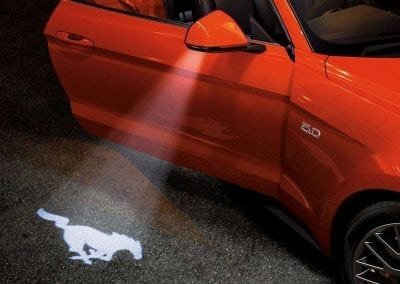 Mustang Discover Exterior Projection Lights