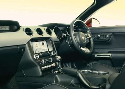 Mustang Discover Interior