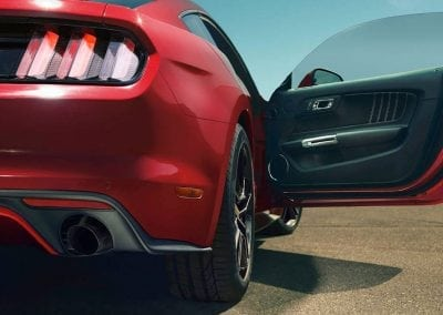 Mustang Discover Rear