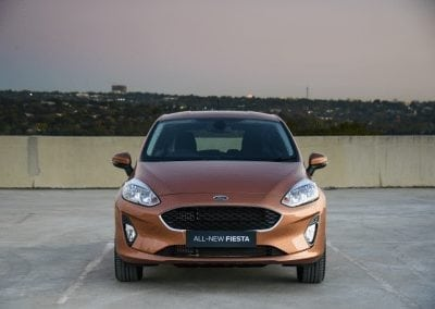 New Fiesta Discover Front