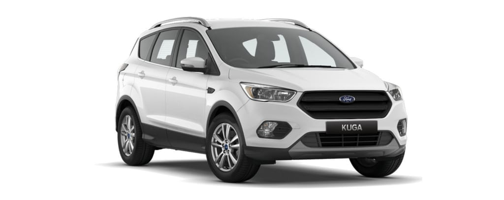 New Kuga Ambiente Frozen White