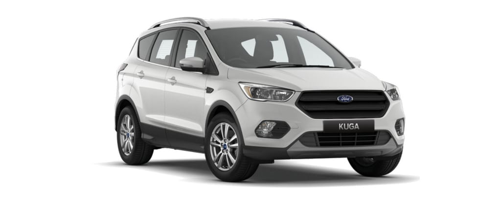 New Kuga AmbientePlatinum White