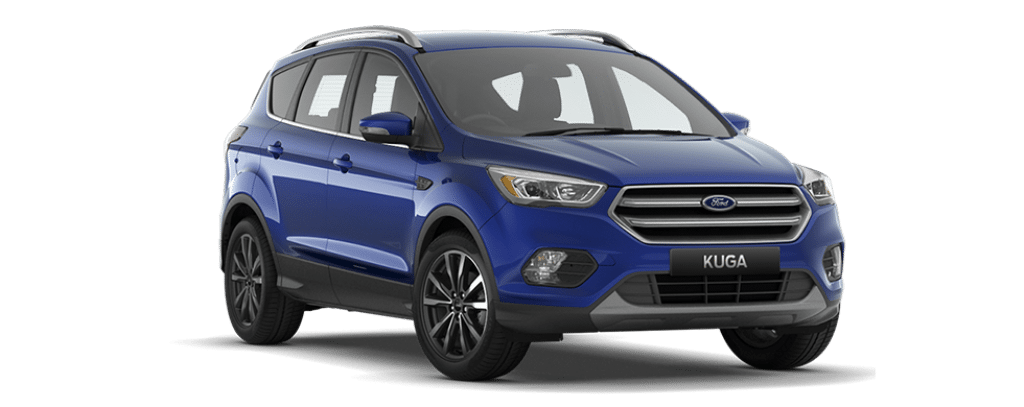 New Kuga Titanium Deep Impact Blue