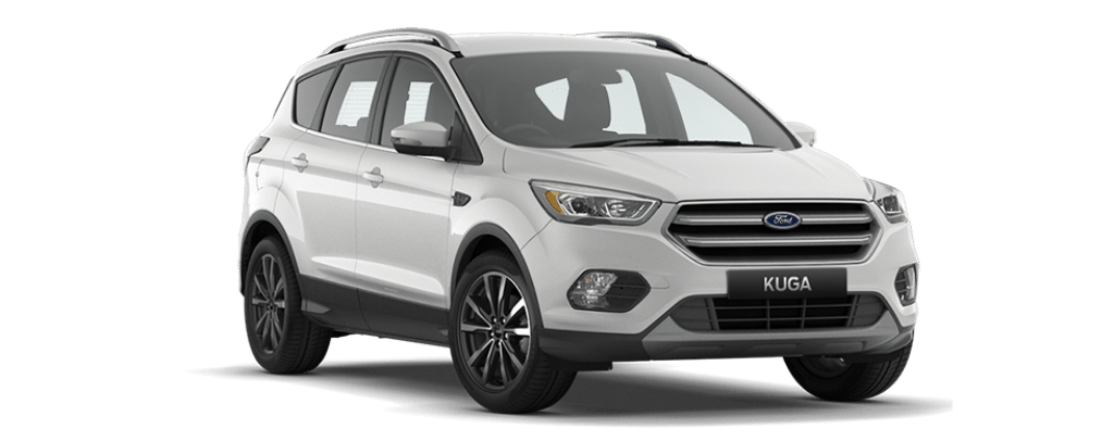 New Kuga Titanium Platinum White
