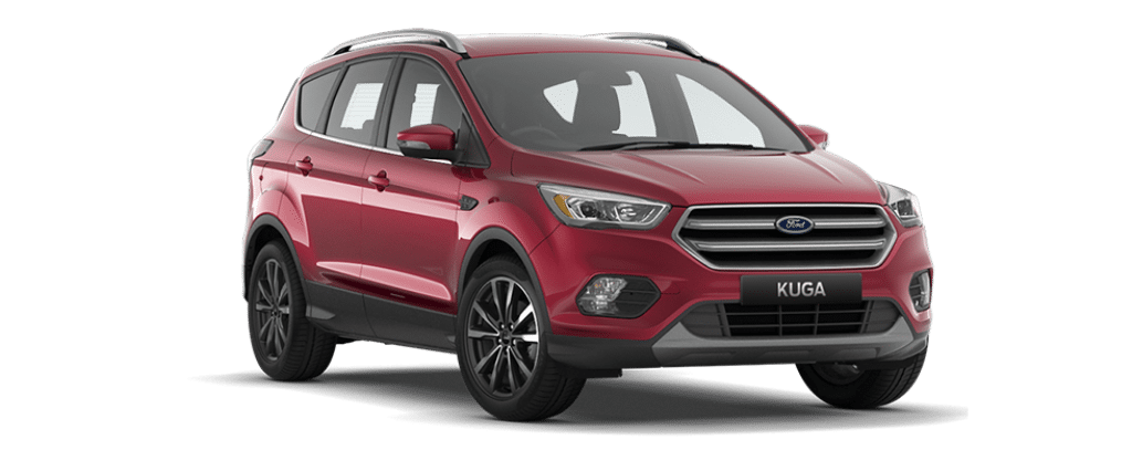 New Kuga Titanium Ruby Red