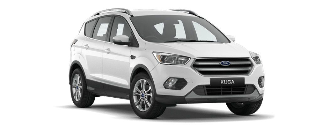 New Kuga Trend Frozen White
