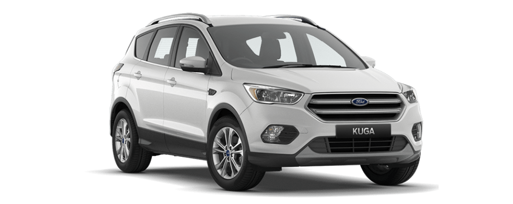 New Kuga Trend Platinum White