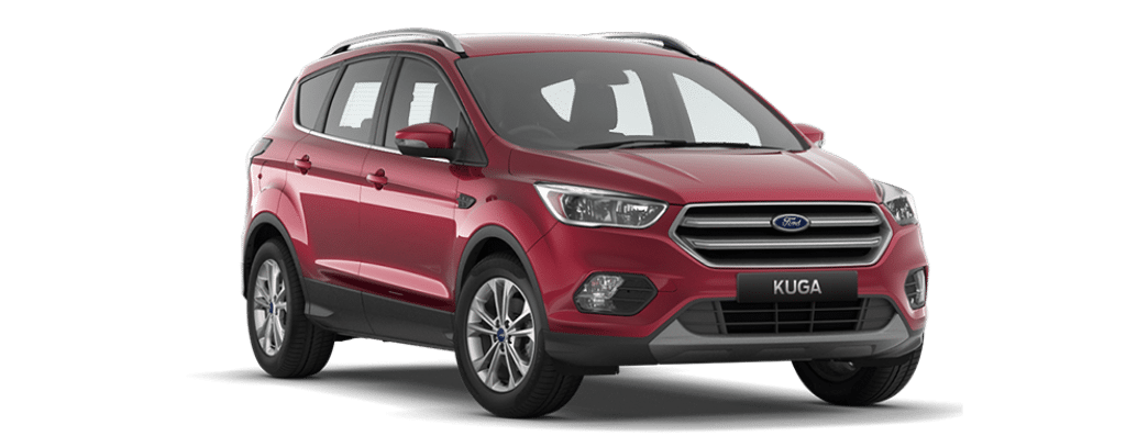 New Kuga Trend Ruby Red