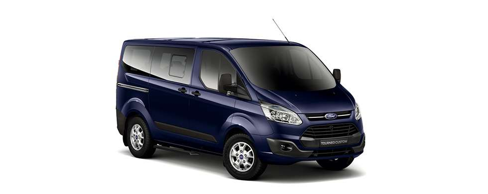 Ford Tourneo Deep Impact Blue