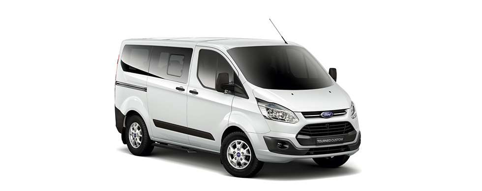 Ford Tourneo Frozen White