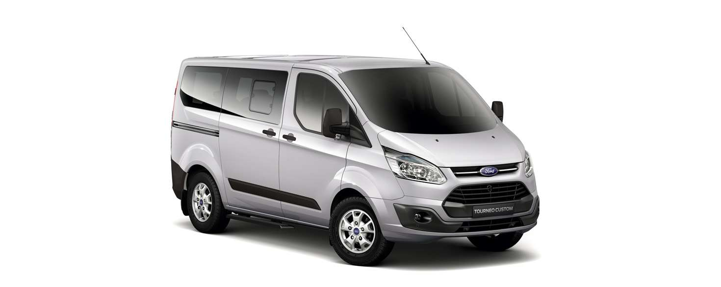 Ford Tourneo Moondust Silver