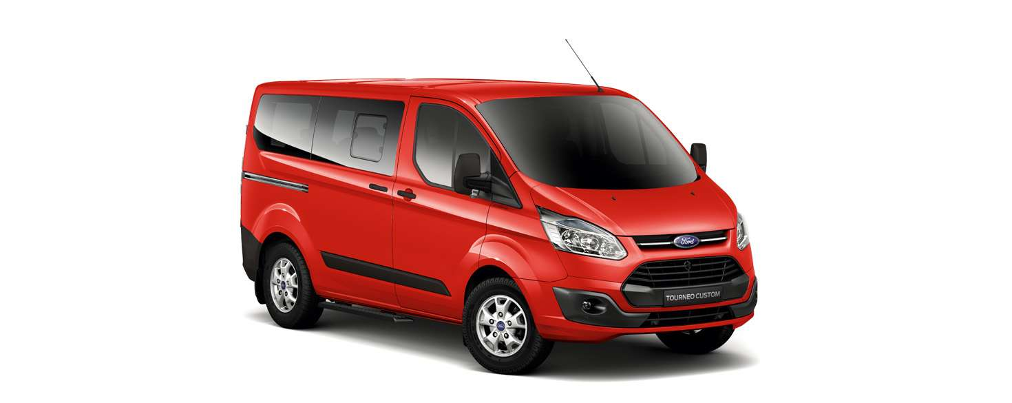 Ford Tourneo Race Red