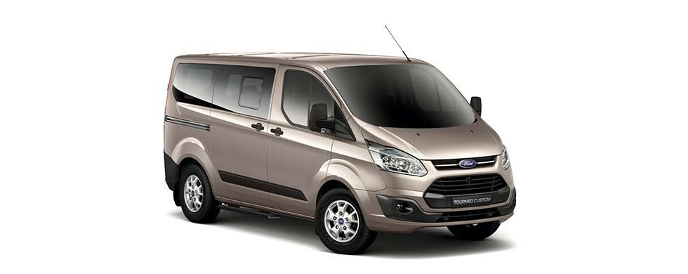 Ford Tourneo Tectonic Silver